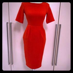 ASOS shift dress. Black or red